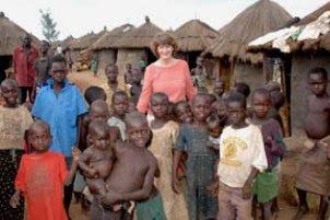 Jennifer Leber in Uganda