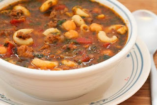 Recipes Across The Miles: Macaroni Ratatouille Soup