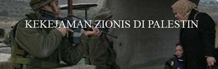 Kekejaman Zionis Di Palestin