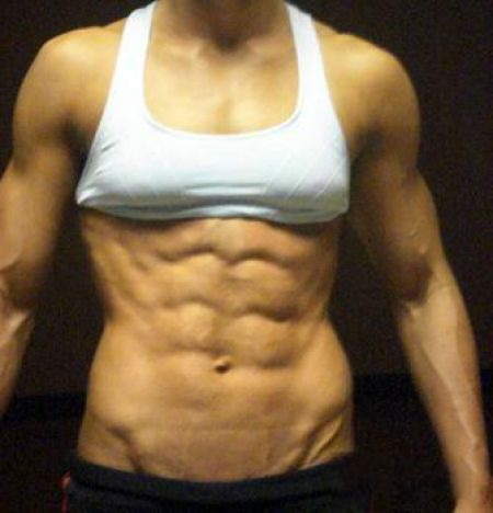 how to get abs women& 39