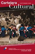 Cartelera Cultural Consejo de la Cultura - Noviembre