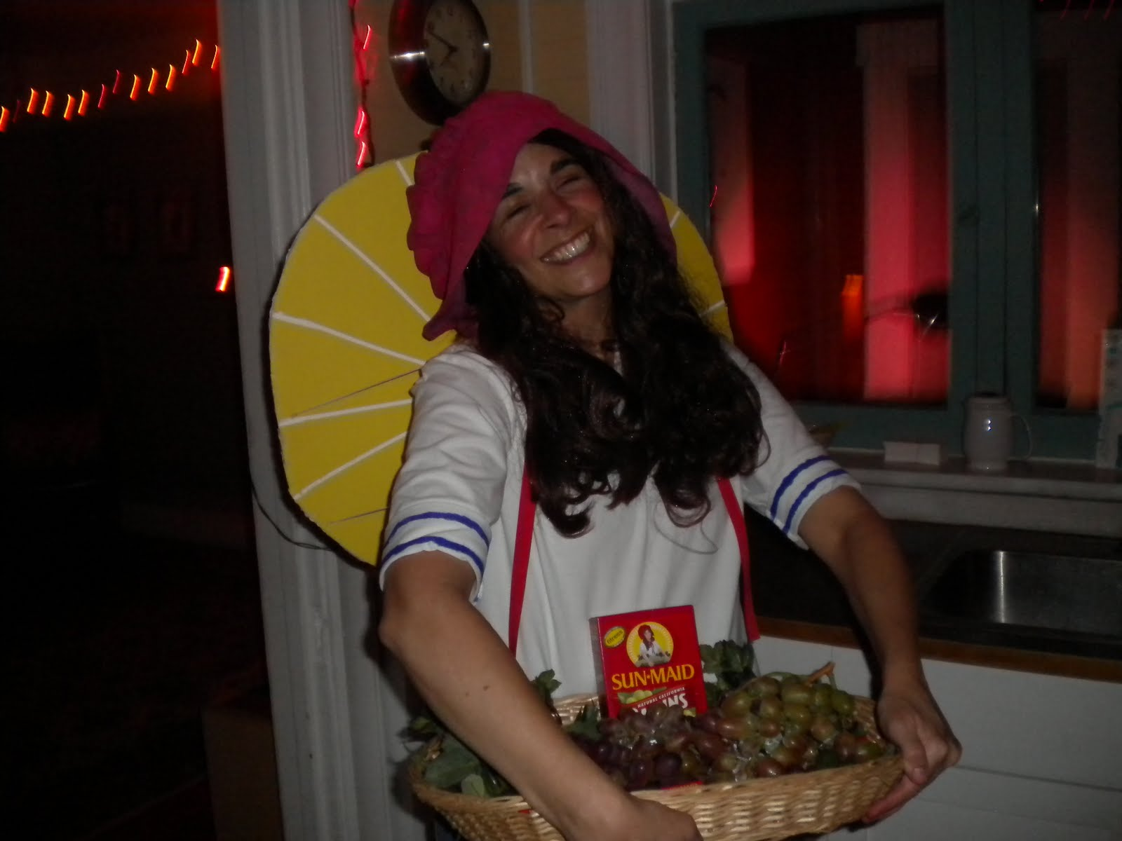 This is Wuh Haecker as the Sunmaid Raisin girl.
