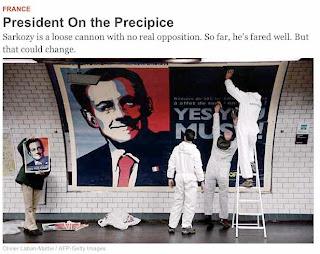 Pour Newsweek, Sarkozy est au bord du précipice  dans DU VRAI JOURNALISME Sarko+Greenpeace