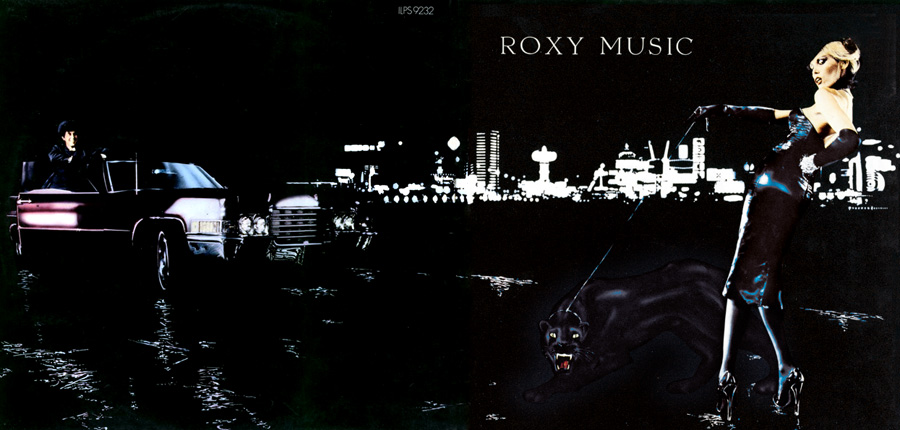 AMANDA LEAR on ROXY MUSIC LP COVER 'FOR YOUR PLEASURE'