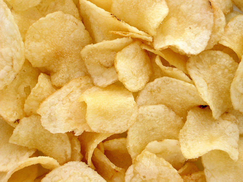 Could a Christian vegetarian eat a potato chip that was shaped like Jesus?