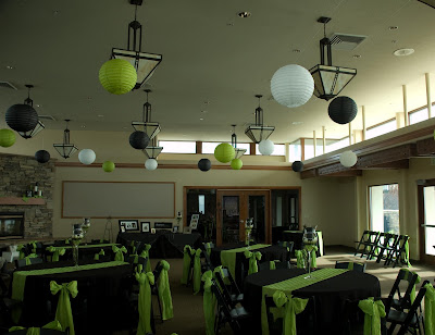 Wedding Reception Chair Rentals on This Was A Fun Wedding Reception At Birch Creek Golf Course We Mixed