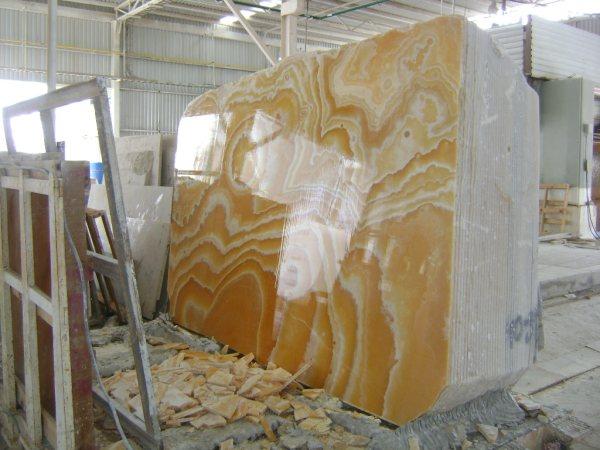 Amber Onyx Slabs : Setimar stone group news golden amber onyx