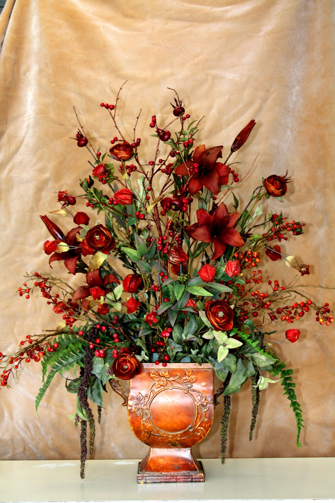 Blackfoot gifts bazaar home decor floral arrangements for Floral decorations for home