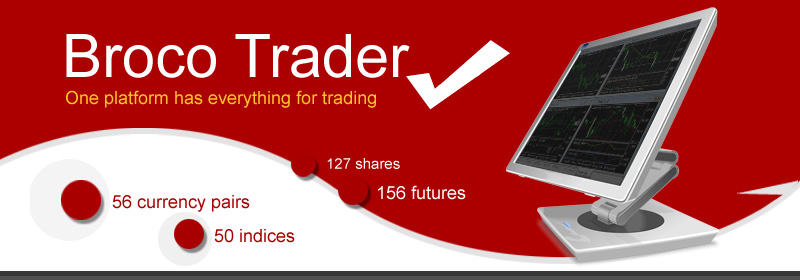 BROCOASIA is an Official IB for BROCO - trade Forex, currency futures CFD, indexes