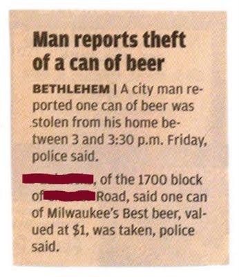 Beer Heist