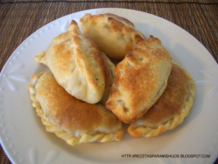 Recetario Spanglish para mis hijos: Empanadas de humita