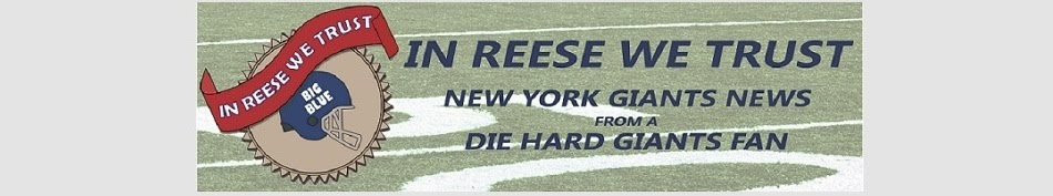 New York Giants News from a Die Hard Giants Fan