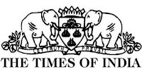 The Times Of India Logo for Times Ad Booking Counter/agency