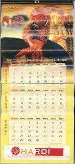 Spider-man Calendar