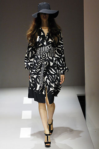 Donna Karan Fashion Show
