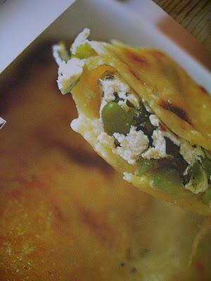 cannelloni aux asperges, rome en images, rome, italie