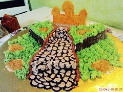 Kek dengan Buttercream