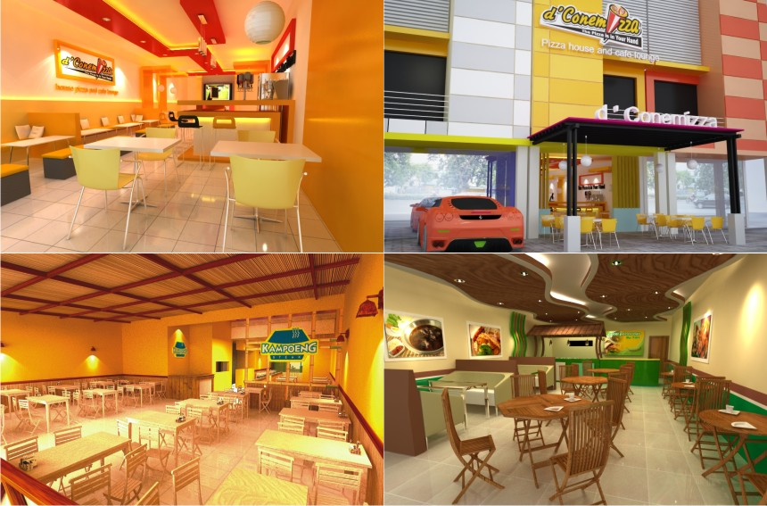 DESAIN INTERIOR &amp; EKSTERIOR RESTO BY AL FURQAAN ISLAMIC ARTWORKS