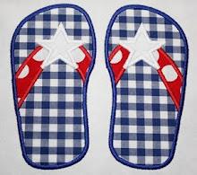 AC Star Flip Flops