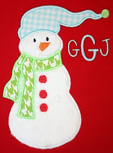 Toboggan Snowman