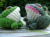 Free toad amigurumi pattern