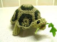 Free tortoise amigurumi pattern