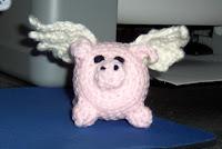 Free Flying Pig Amigurumi Pattern