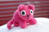 Free kitten crochet amigurami pattern