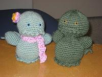 Amigurumi Cthulu free crochet pattern