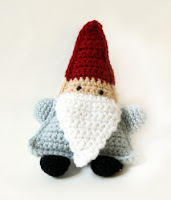 Free amigurumi crochet gnome pattern