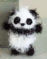 Free amigurumi panda crochet pattern