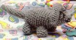 Free triceratops crochet pattern