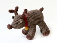 Free amigurumi reindeer pattern