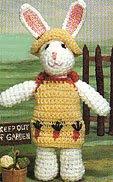 Free bunny rabbit amigurumi pattern