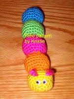 Free caterpillar amigurumi pattern