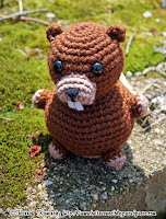 Free crochet beaver amigurumi pattern
