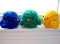 Free amigurumi crochet bird pattern