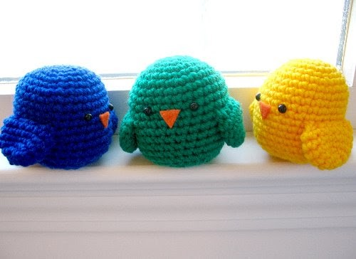 Free Amigurumi Patterns: Birds of a Feather