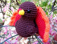 Free turkey crochet amigurumi pattern
