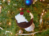 Free crochet christmas pudding pattern