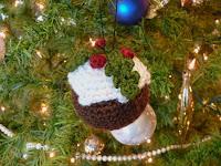 Free crochet christmas pudding pattern