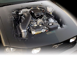 Motor supercharger Ford Mustang