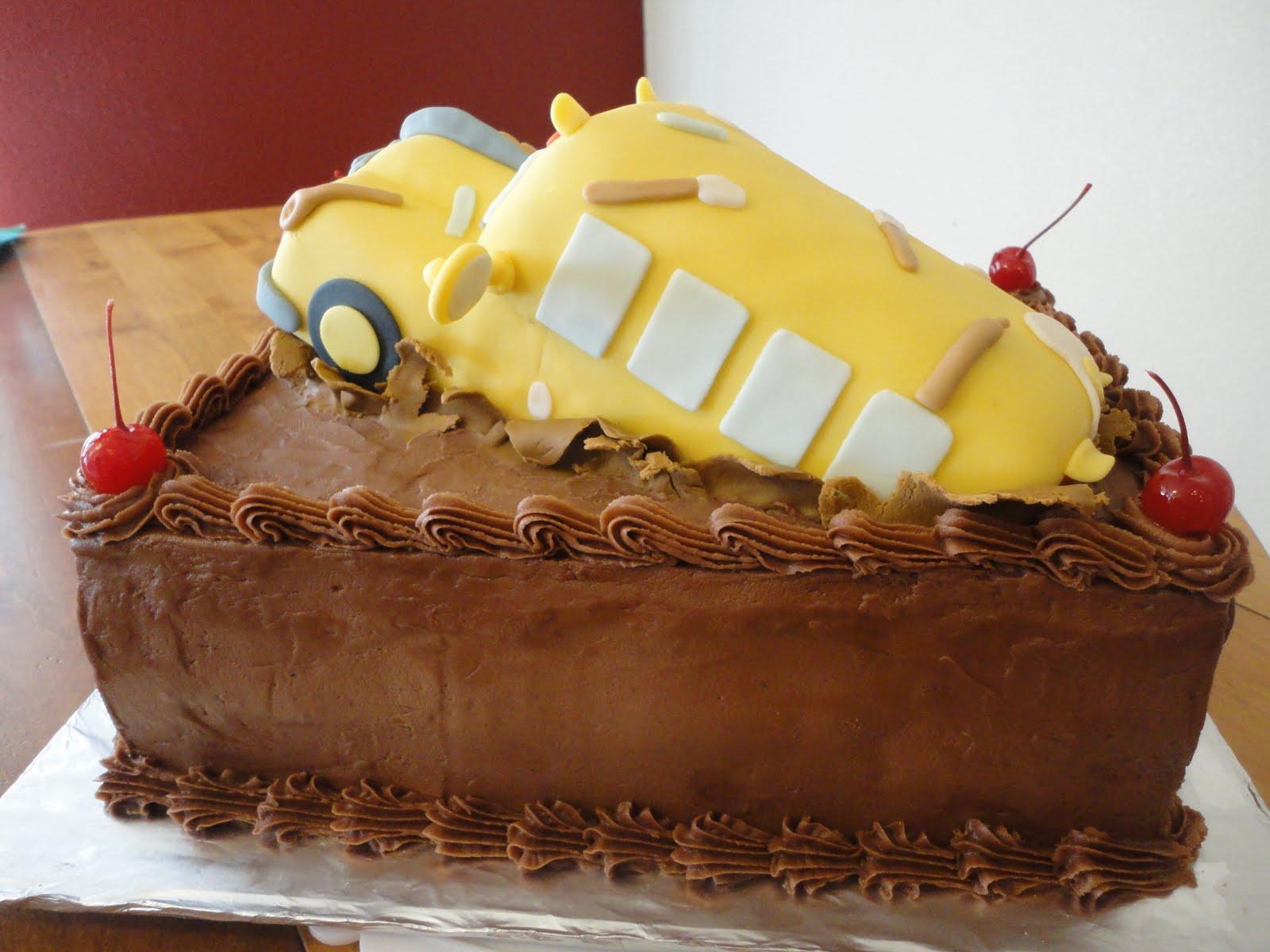 Sugarcoma Cakes Magic School Bus