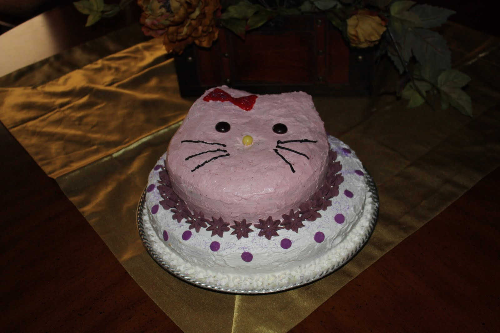 the adventures of sam the y a m hello kitty baby shower cake