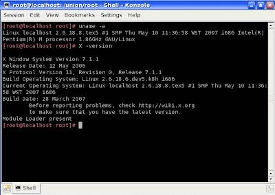 pclinuxos konsole terminal
