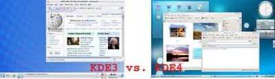 KDE3 vs. KDE4