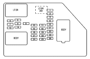 T14269981 Fuse wipers 1989 buick reatta in addition 26848 besides Ford E 350 Fuse Box together with Showthread additionally Honda Accord Coupe94 Fan Controls Circuit And Wiring Diagram. on accessory relay wiring diagram