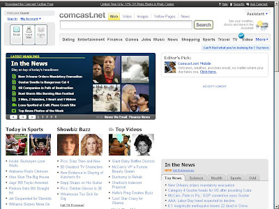 MY COMCAST HOME PAGE
