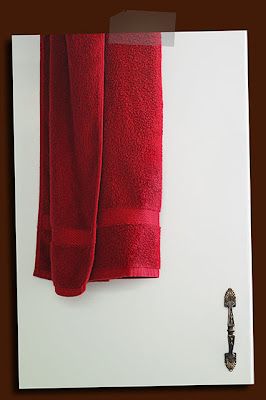 towel and closet door