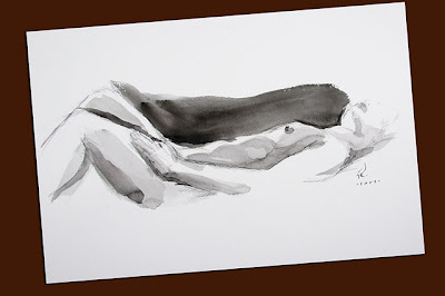 nude watercolor sketch 3